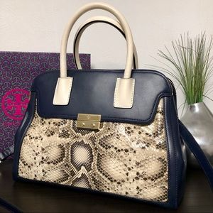 Tory Burch Snake Dome Satchel